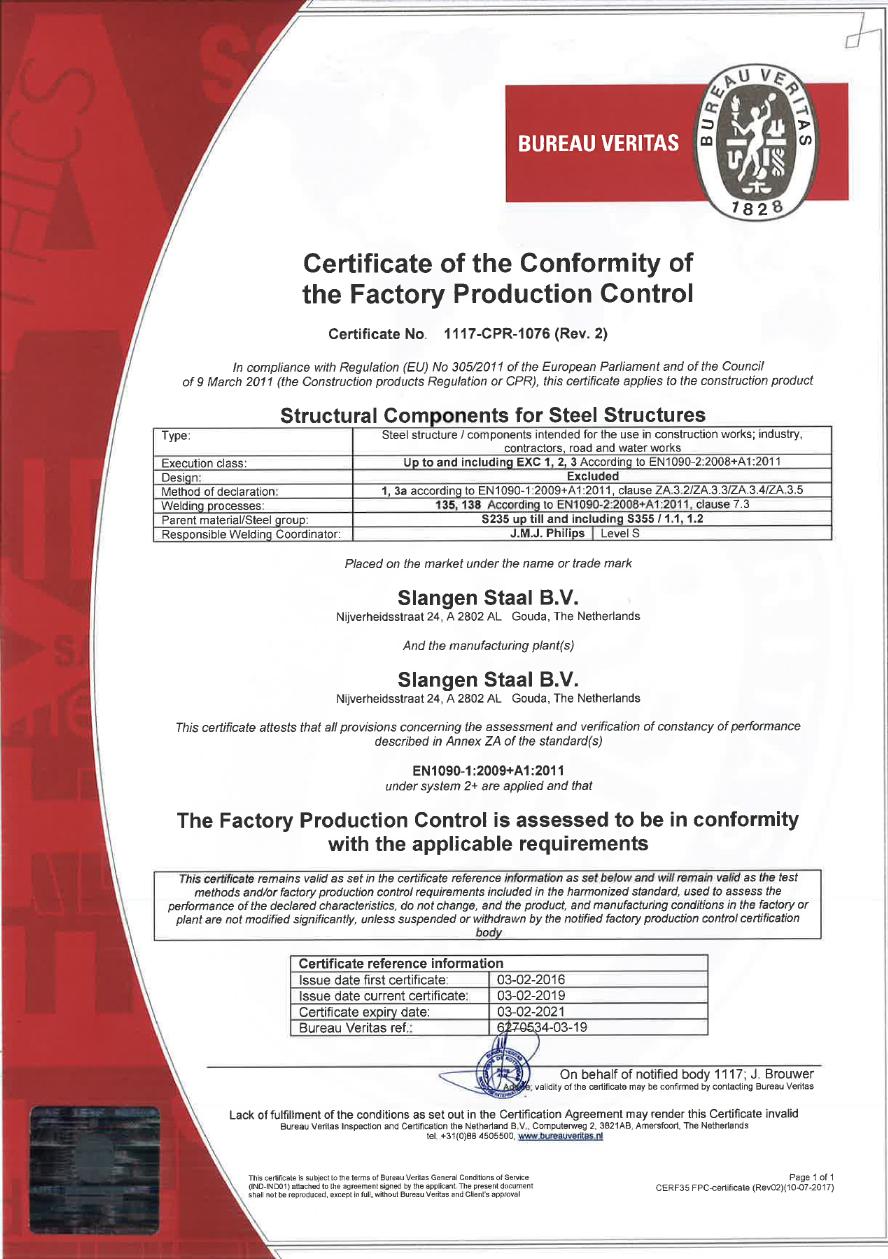 slangenstaal-certificaat-productiecontrole